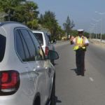 Police net five drunk drivers in clampdown