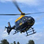 Police chopper crashes after aborted take-off