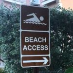 Beach access still under threat