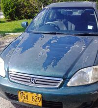 Cayman News Service, stolen Honda Civic