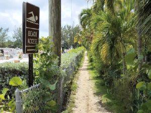 Cayman News Service, Beach access on the Cayman Islands