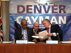 Cayman Airways Denver, Cayman News Service
