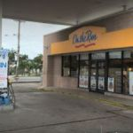 Armed robber makes off with gas station till