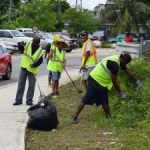Summer clean-up offers work for jobless locals