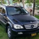 Car thieves make off with Merc SUV