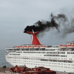 Cruise lines still polluting