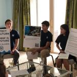 Teen activists ask cruise partners to stop project