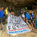 POF activists battle Brac beaches