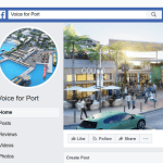 Pro-port PR machine creates 'fake' FB pages