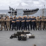 Royal Navy nets 1,000kgs of cocaine in Caribbean