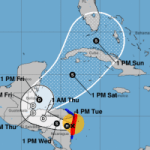 Eta could swing back into Caribbean as storm