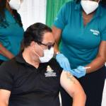 Island-wide vaccine plan begins