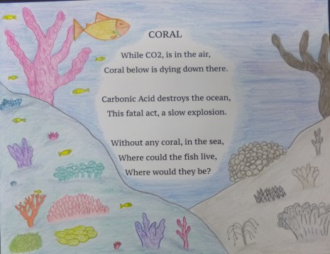 Luc Pillsbury, 6th grade, Benchmark Elementary School, 1st Place Winner for the National 2018 CCEW Illustrated Poem Contest!