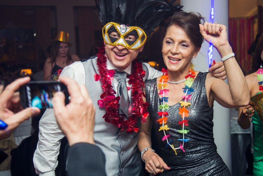 Fotos en la recepción y fiesta