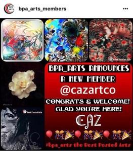 Membership feature by @bpa_arts cazartco