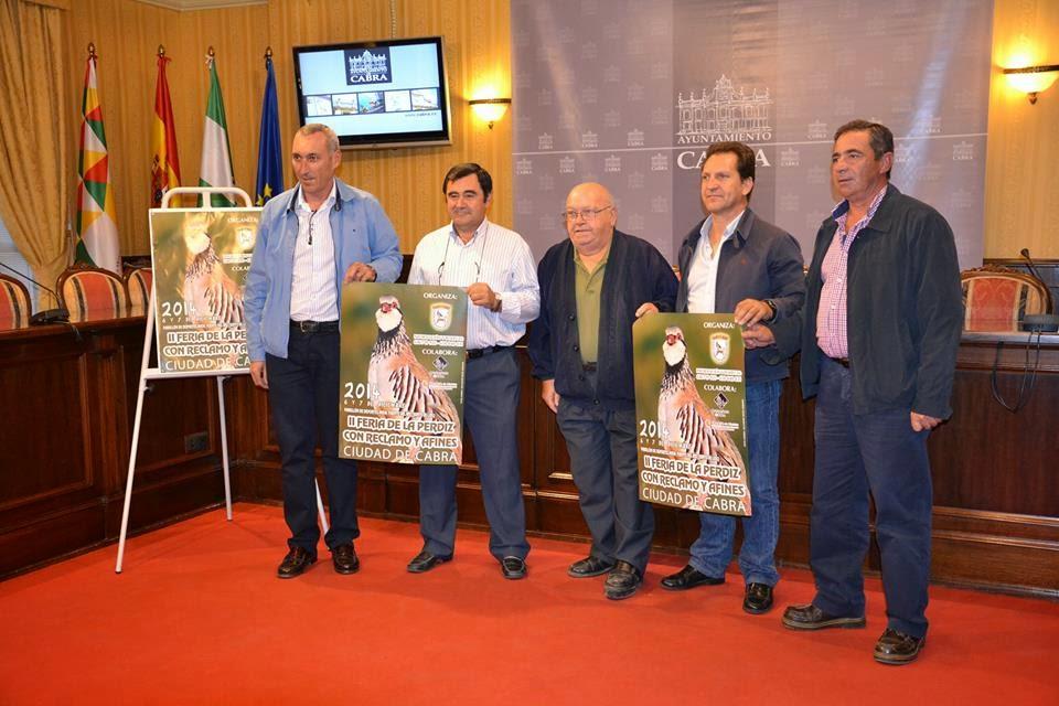 II FERIA DE PERDIZ CON RECLAMO Y AFINES DE LA CIUDAD DE CABRA (CÓRDOBA)