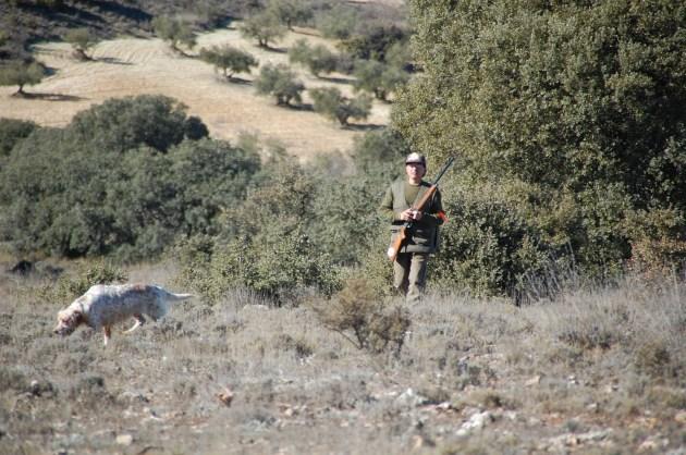 359 - Fichas de caza (2) cazador