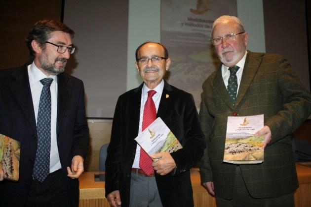 José Ángel Arranz, J.L. Garrido y Santiago Iturmendi