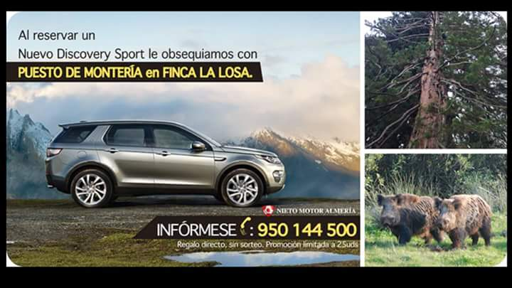 Nieto Motor Almería te invita a la finca La Losa