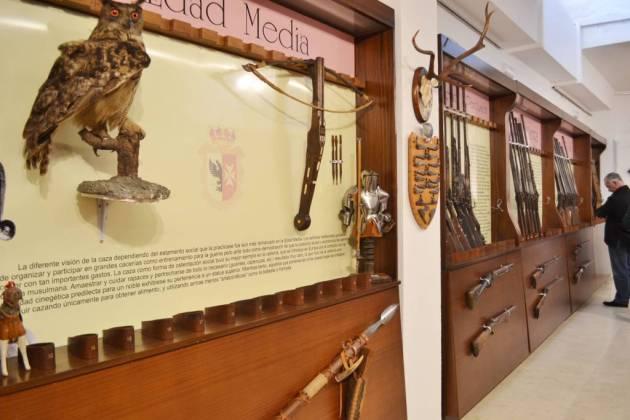El Museo alberga casi 300 armas.