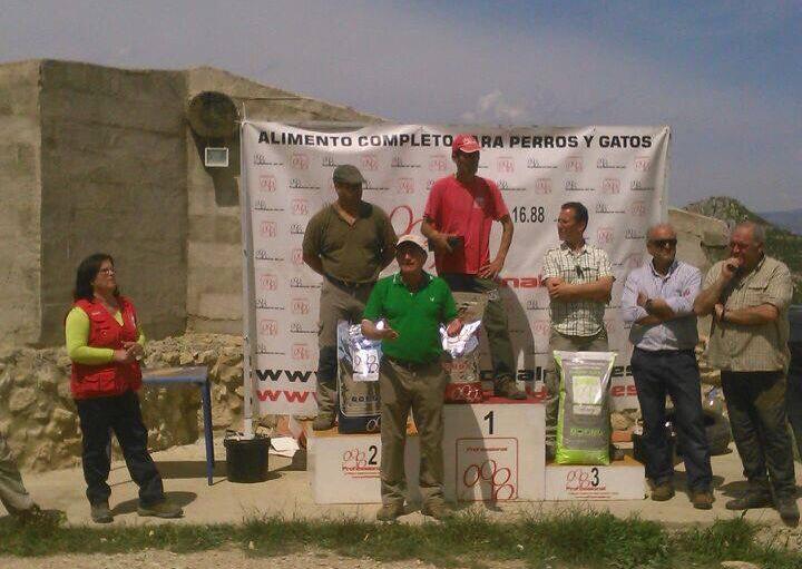 Podium Campeonato Autonómico San Huberto C. Valenciana