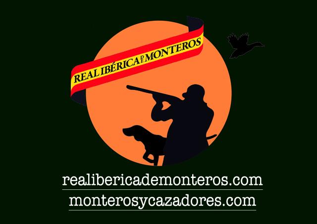 Logo real ibérica de monteros y monteros y cazadores