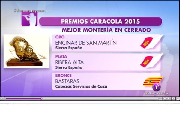 R - premios caracola en RTVCM