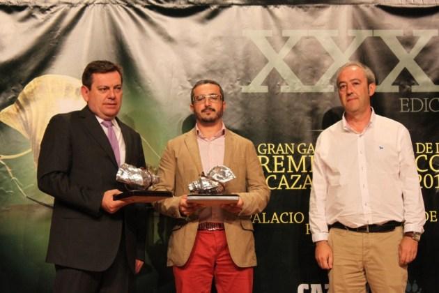 """Caracola de plata a la mejor montería en abierto: """"La Cruz"""", organizada por Cinabrio Servicios Cinegéticos."""