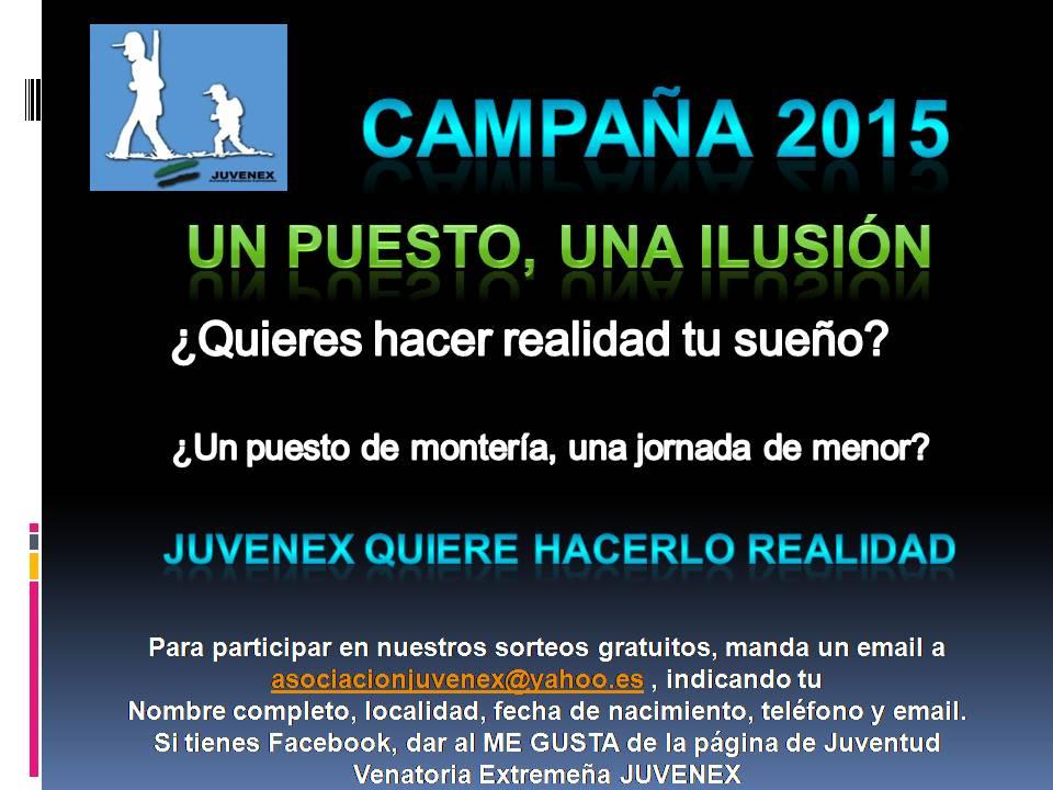 CARTEL CAMPAÑA 2015 juvenex