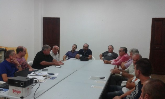 Conseller Font y Sociedades de Cazadores UNAC