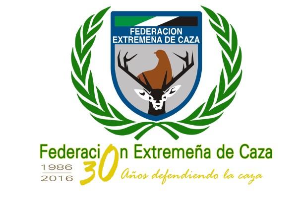 Escudo 30 aniversario FEDEXCAZA