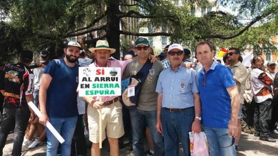 manifestación madrid caza pesca