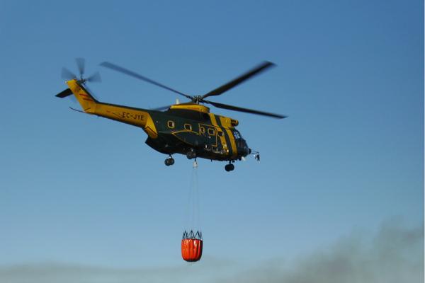 helicoptero incendios