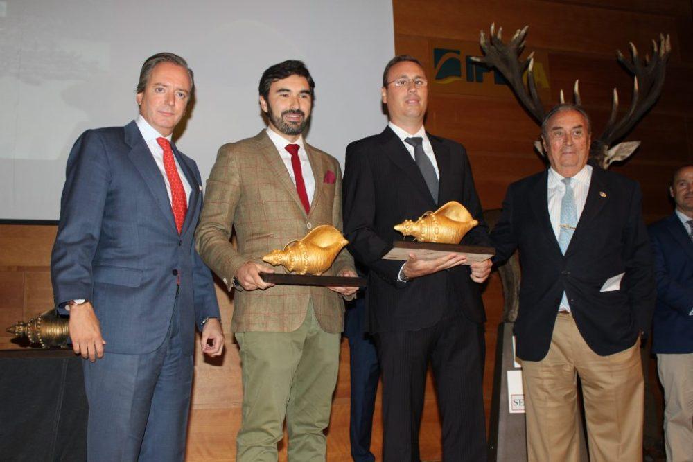 "Caracola de oro a la mejor montería en cerrado: ""Bastaras"", organizada por Cabezas Servicios de Caza."