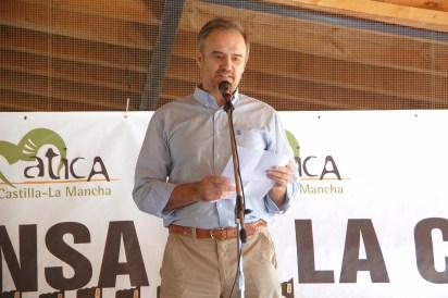 Rufino Muñoz García, alcalde de La Nava de Ricomalillo