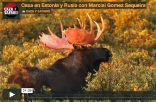 Caza en Estonia y Rusia con M. Gómez Sequeira