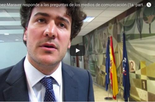 Maraver responde a los medios tras ser elegido presidente RFEC(I)
