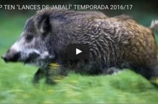 Top ten de lances de jabalí de la temporada 2016/17