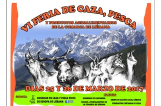 VI Feria de Caza de Liébana, el 25 y 26 de marzo