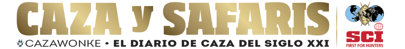 CazaWonke – Caza y Safaris, tu diario de caza.