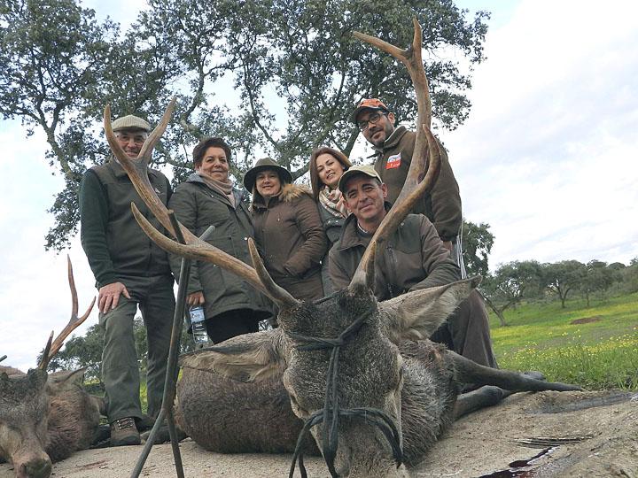 Bonita jornada de caza
