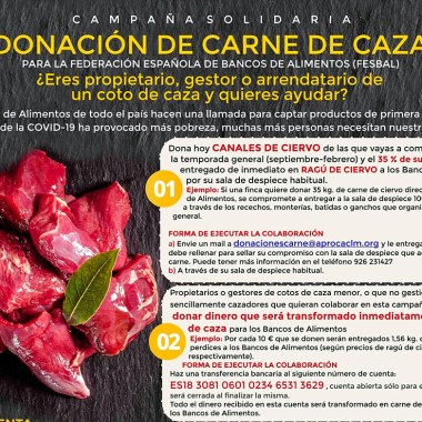 Campaña de donación
