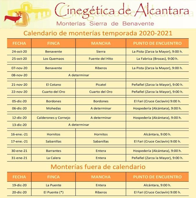 Cinegética de Alcántara presenta