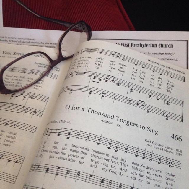 hymn presbyterian worship sing