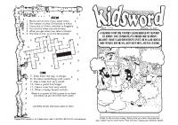 kidsword for 1-10-21