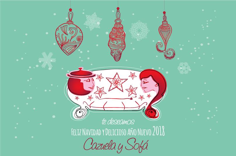 Feliz Navidad y Delicioso Año Nuevo 2018