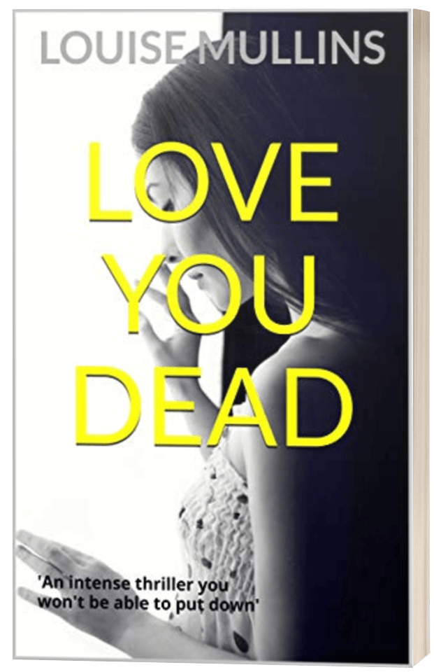 Love You Dead - Louise Mullins - 3D book cover