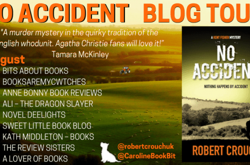 No Accident - Robert Crouch - Blog Tour Poster