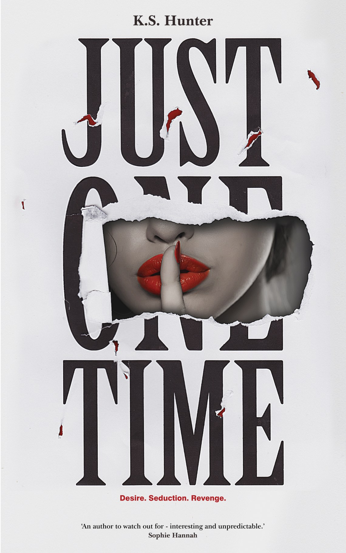 Just One Time - KS Hunter - Book Cover