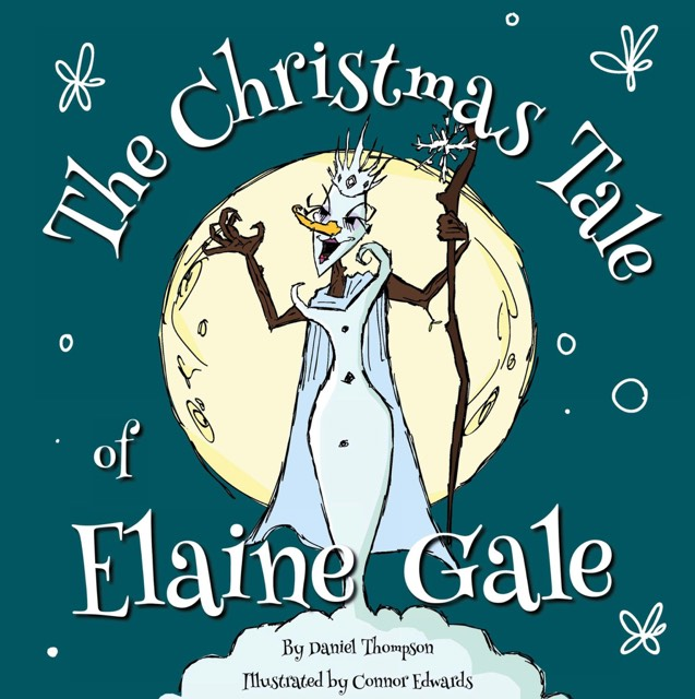The Christmas Tale of Elaine Gale - Daniel Thompson - Book Cover